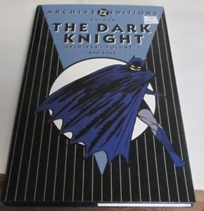 THE DARK KNIGHT ARCHIVE EDITIONS VOLUME 1