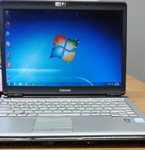 """Toshiba Satellite 13.3"""" screen laptop with webcam & new battery"""
