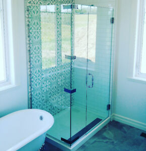 custom glass shower doors 10 mm for less