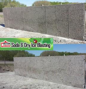 Property Restorations - Log home/brick Soda and Dry Ice Blasting Revelstoke British Columbia image 3