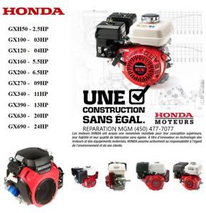Moteur  Honda Briggs Kohler powermore Lifan Neuf et Usager