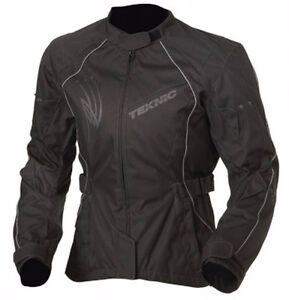 Woman's Teknic Motorcycle Jacket - Size 8 (M)