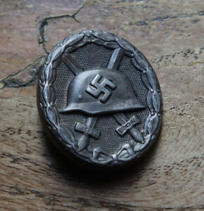 German World War Two Wehrmacht WWII Wound Badge