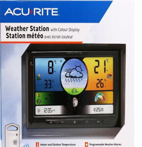 Brand new Acurite-Weather-Station-With-Colour-Display