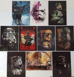 Star Wars 2017 ROGUE ONE Series2 TROOPERS Trading Card Set of 10