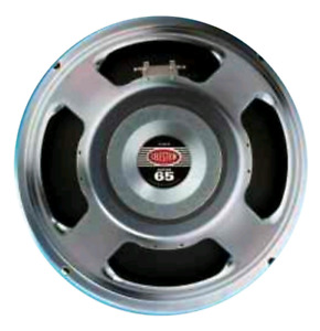 "Pair of Celestion Super 65 12"" speakers"