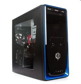 Gaming PC bundle 8GB RAM, 2TB HD, AMD Quadcore 3.8GHz