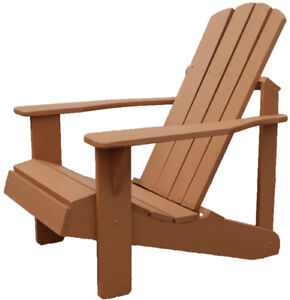 Amish made cedar deck patio chair kits for local pickup