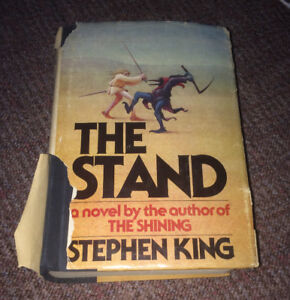 """Stephen King """"The Stand"""" True 1st Edition 1st Print 1978 RARE!!!"""