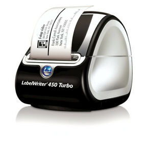 DYMO LabelWriter 450 Turbo Label Printer and labels