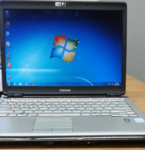 "Toshiba Satellite 13.3"" laptop with brand new battery"