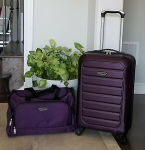"""New, Prodigy 20"""" Carry-on Hardside Spinner & Duffel Luggage Set"""