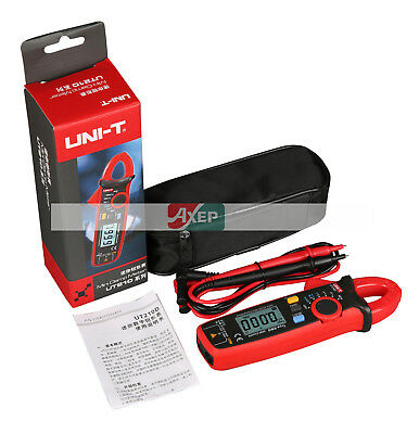 Uni-t Ut210e Digital Clamp Meter Multimeter Handheld Rms Acdc Mini Resistanc