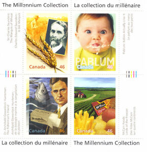 Canada Stamps - The Millennium Collection - Food, Glorious Food West Island Greater Montréal image 1