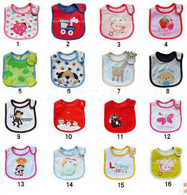 Baby Bandana Bibs Kids Saliva Towel Prevent Slobber Wet Clothes Waterproof Towel
