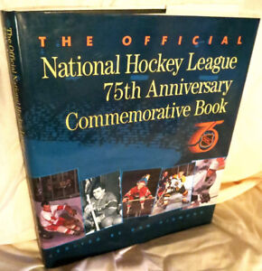 ►Official NHL 75 Anniversary Commemorative Hardcover◄