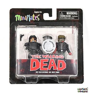 Walking Dead Minimates Tru Spielsachen R Us Welle 4 Riot Gear Gouverneur & (Walking Dead Sachen)