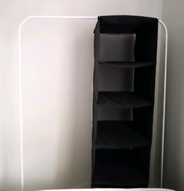 IKEA Clothes rack + Storage with Compartments