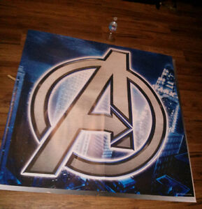 Avengers poster. Huge. 48inch X 48inch