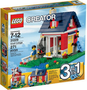 Retired Lego 31009: Small Cottage