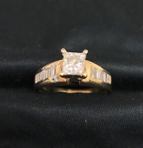 Diamond Engagemet ring with appraisal papers