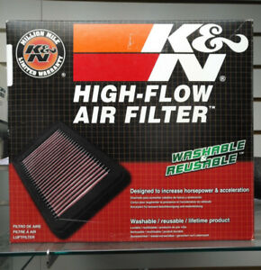 K & N High Flow Stock Replacement Air Filter for Yamaha