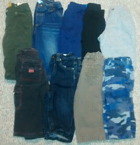 12 month pants lot