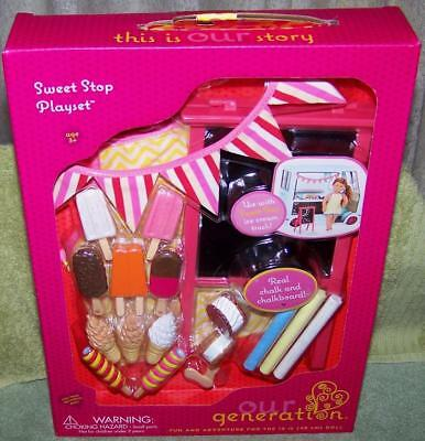 Our Generation Sweet Stop Playset New