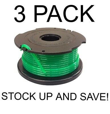 - Auto feed replacement Spool for Black & Decker GH3000 3-Pack