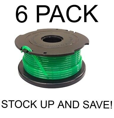 - Auto feed Replacement Spool for Black & Decker GH3000 6-Pack