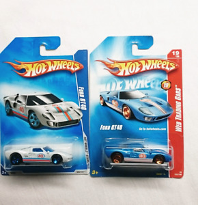 Hot Wheels Ford Gt  Cars Cast Blue And White