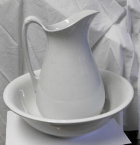 Alfred Meakin England large pitcher and wash basin bowl
