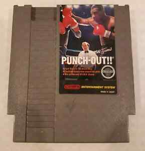(Nintendo) Mike Tyson's Punch Out NES