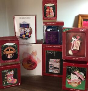 """Collectible """"Sister"""" Christmas ornaments"""