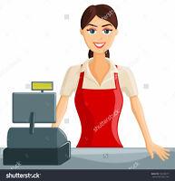 Clothing Sorter/Cashier