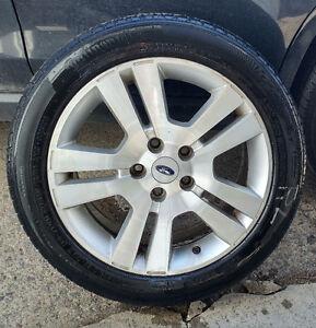 4 mags Ford Fusion pneus d'été/ summer tires (225-50-17),  Bolt