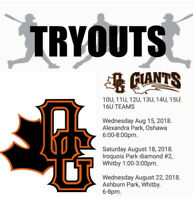 Ontario Giants Elite Baseball