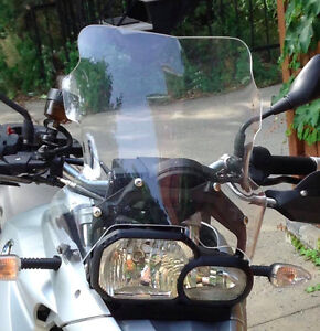 Large Touring Windscreen for BMW F800GS, F700GS, F650GS-Twin