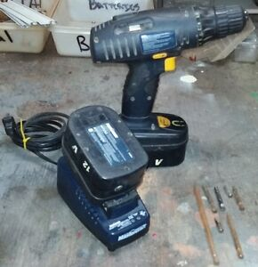 Mastercraft Cordless Drill with 2 Batteries