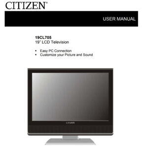 "Citizen TV 19"" LCD - NEW - 60$"