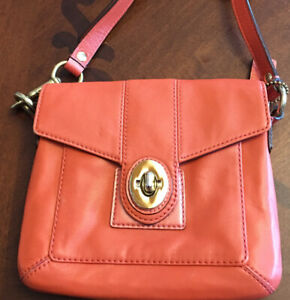 Authentic coach small cross body bag