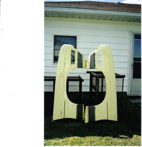 1972-73 Ford LTD. Left and Right front fenders