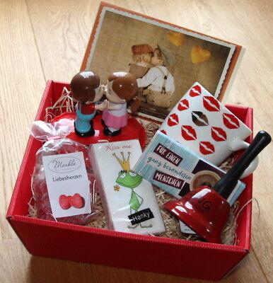 Valentinstag Geschenkidee Valentinstaggeschenke Präsentkorb Geschenke Liebe Love