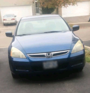Negotiable 2007 Blue Honda Accord (Price May Be Lowered)