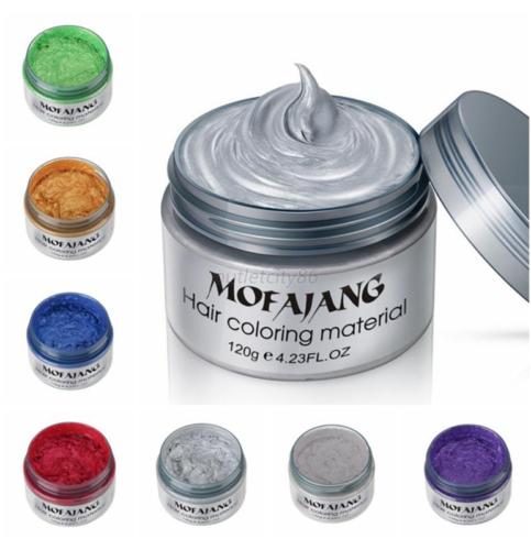 Japanese Unisex DIY Hair Color Wax Mud Dye Cream Temporary M