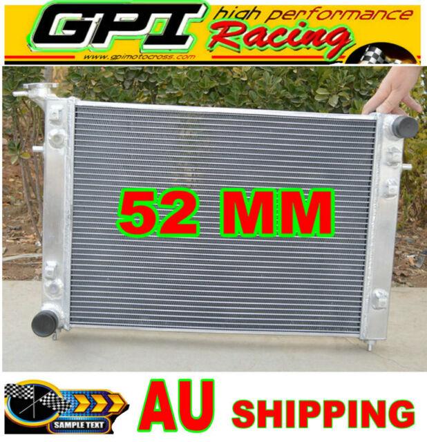 GPI 52MM Holden Commodore VN VG VP VR VS V6 3.8L AT/MT ALLOY ALUMINUM RADIATOR