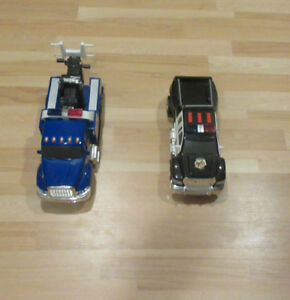 Tonka Tow Truck and Police Truck Lights and Sounds