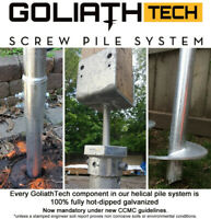 GolaithTech Yukon - Screw Piles for your Foundations