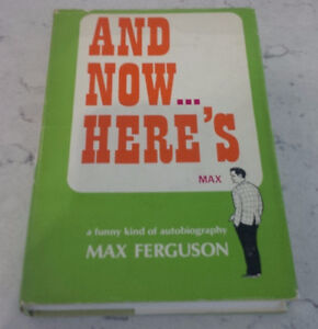 And Now ... Here's Max, Max Ferguson, 1967, CBC
