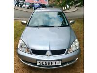 FULL SVCE HISTORY 2006 MITSUBISHI LANCER EQUIPPE 1.6 PETROL 100 BHP MOT 10.10.18